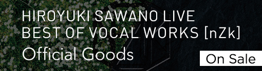 BEST OF VOCAL WORKS[nZk] Official Goods On Sale